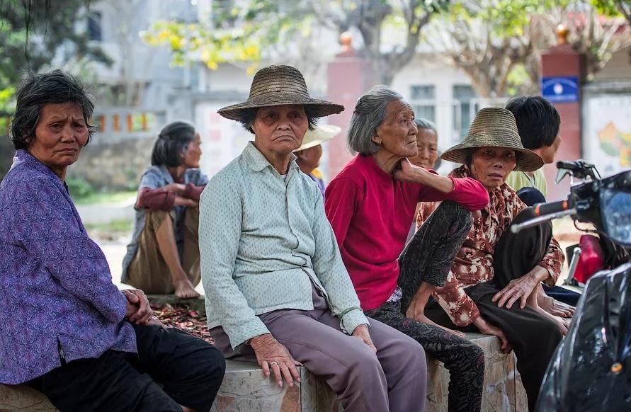Китайские пенсионеры