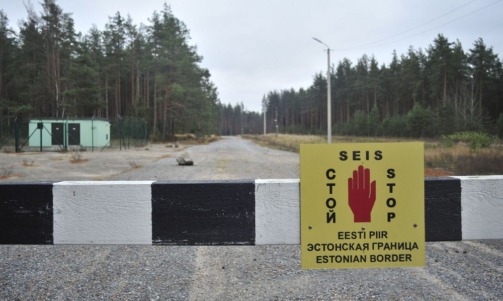 Пересечение эстонской границы