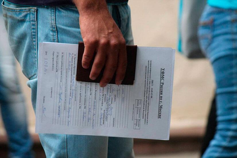 Санкции за проживание без паспорта РФ