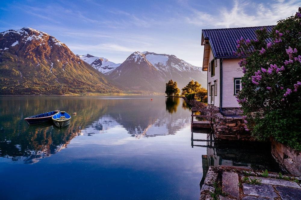 Стрюн, Норвегия