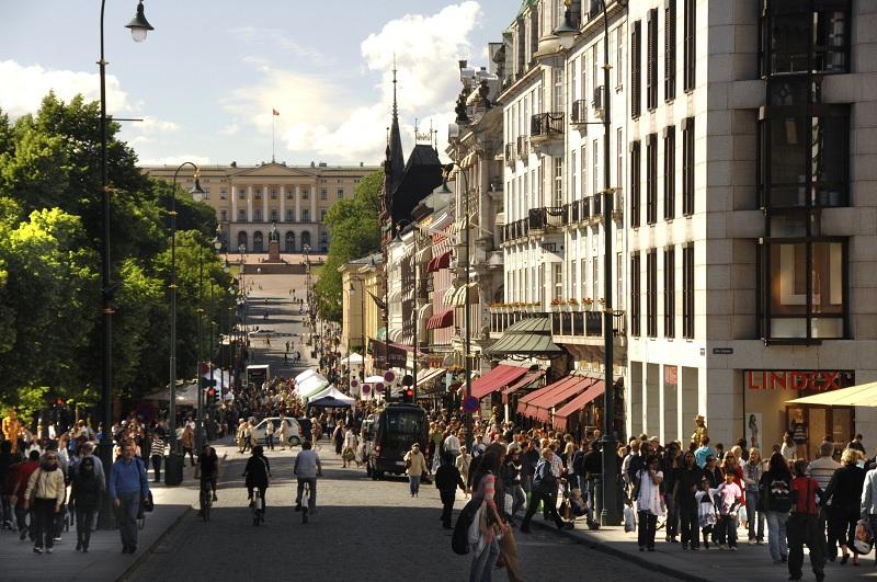 Жители города Осло