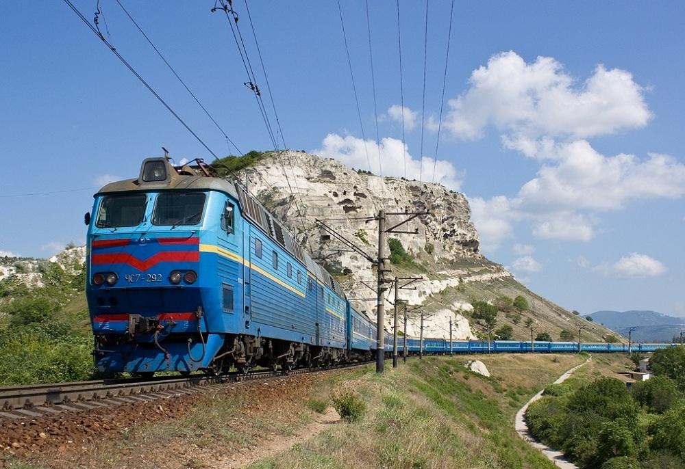 На поезде в Крым