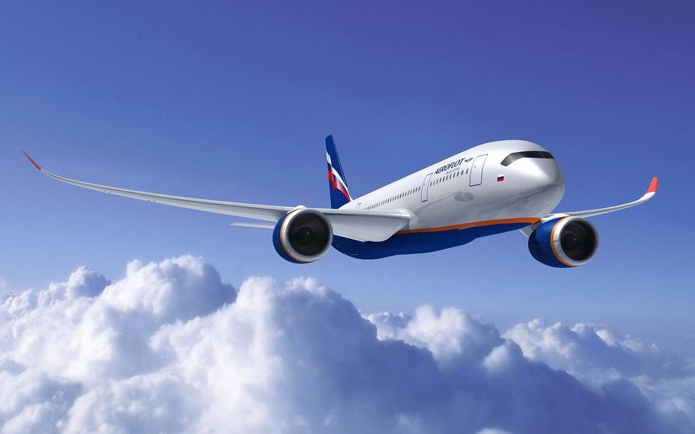 На самолете в Крым