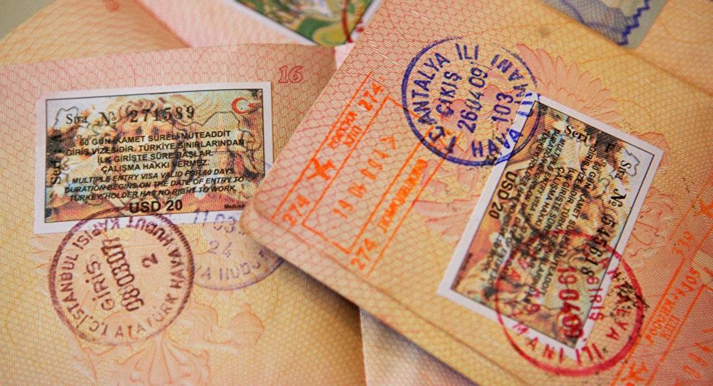 Турецкий штамп в загранпаспорте