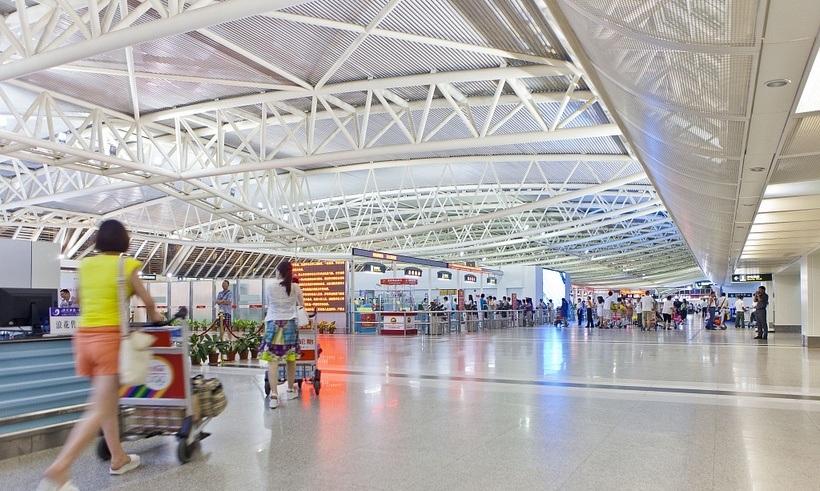 Аэропорт на острове Хайнань