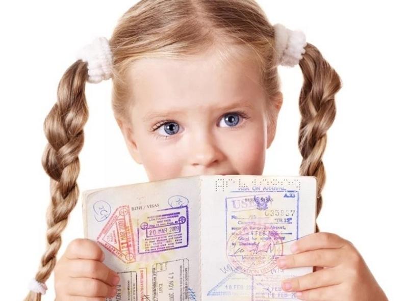 Оформление транзитной визы на ребенка