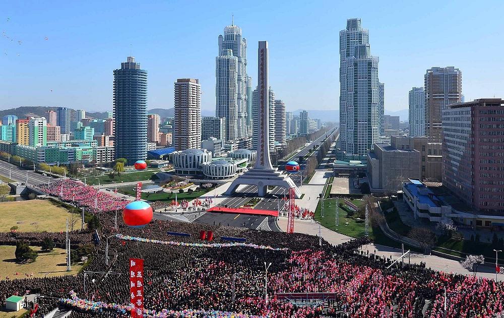 Пхеньян — столица Корейской Народно-Демократической Республики