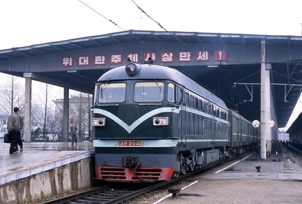 Поезд до Северной Кореи