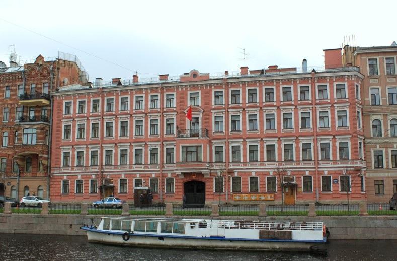 Посольство Китая в Санкт-Петербурге