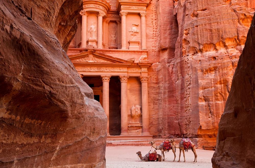 Великий город Петра в Иордании