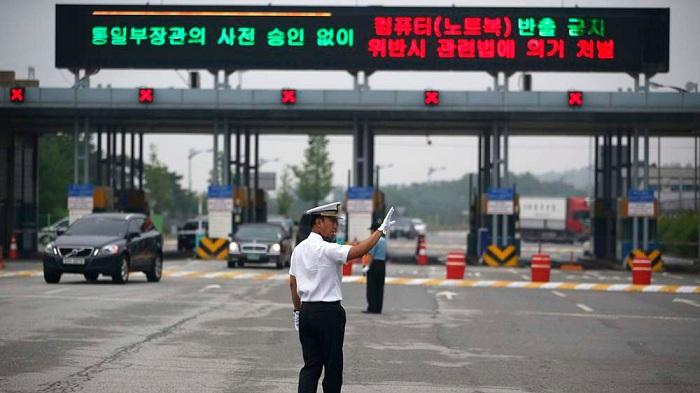 Въезд на территорию Северной Кореи