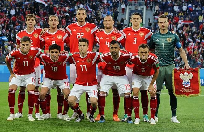 Доходы футболиста в сборной России
