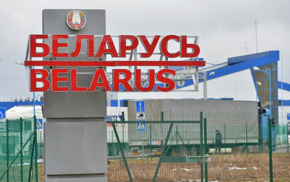 Граница России и Белоруссии