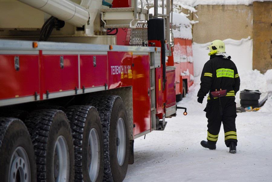 Пожарные в российских регионах