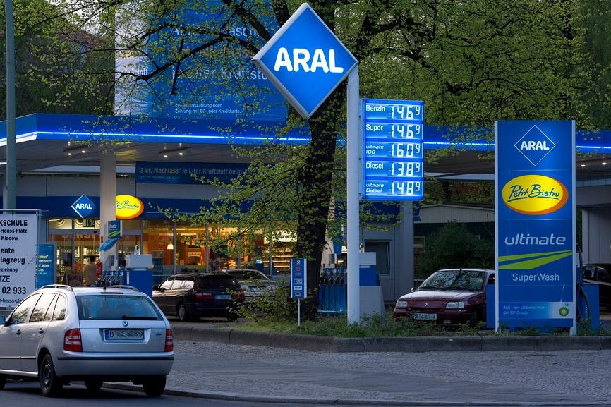 Цена на бензин в Германии