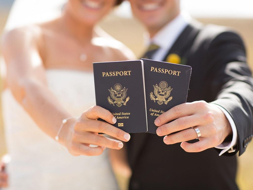 Заключение брака с гражданином США