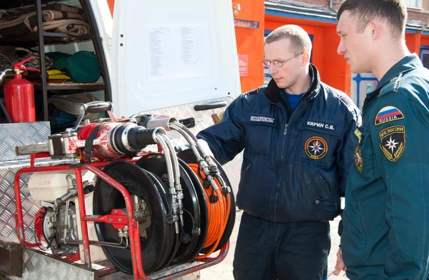 Зарплата аттестованных пожарных