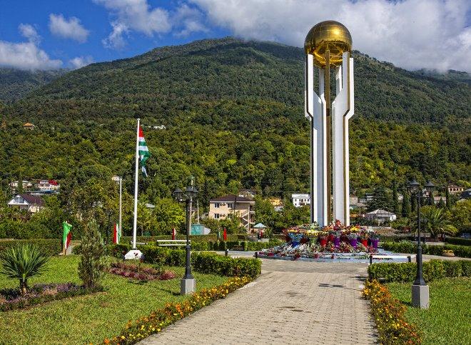 Работа в Абхазии