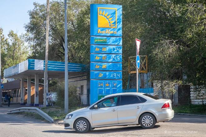 Benzin v Kazahstane