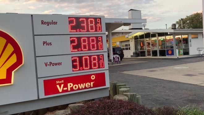 Стоимость бензина в США